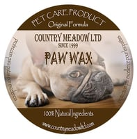 Country Meadow PAW WAX Original Formula 4 oz